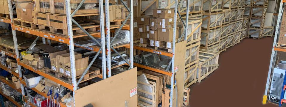 warehouse bird eye view