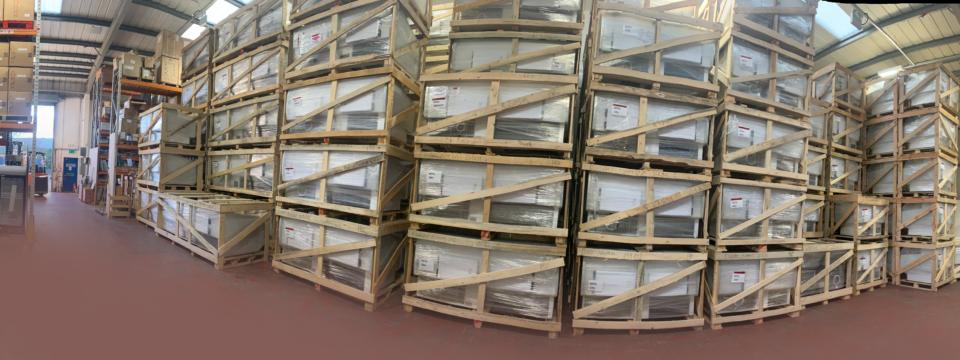 warehouse clean pano